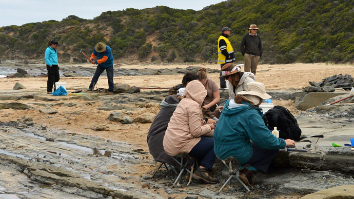 dinosaur-dig-cape-otway-dig-site