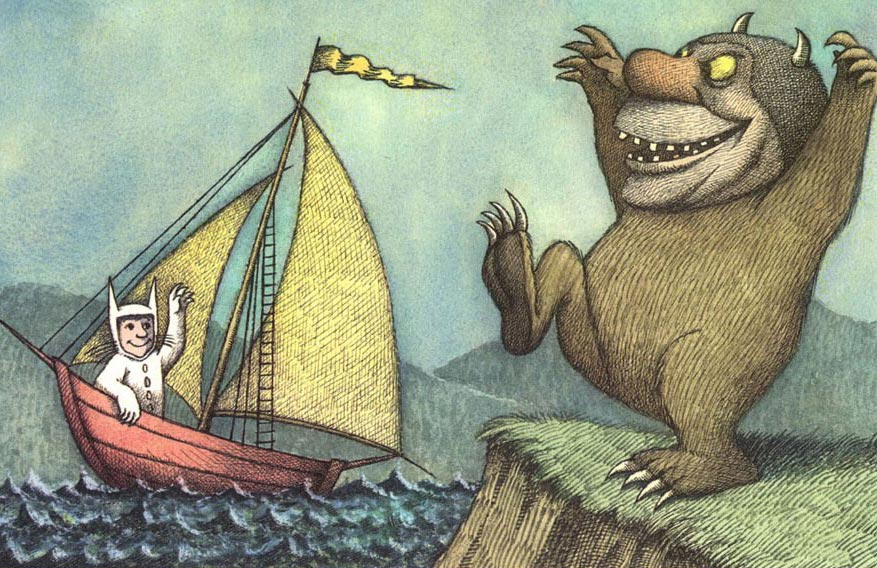 maurice sendak where the wild things are book covers